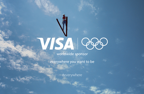 Visa Wins Sponsors' Social Media Gold at Sochi