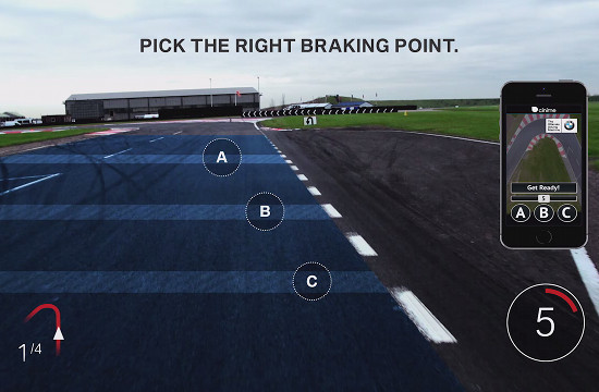 BMW Invites Film Fans to Test Driving Skills