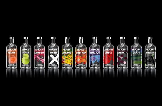 Absolut Redesign Flavoured Vodka Range