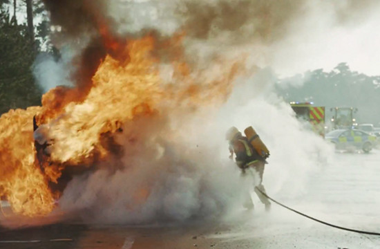 Vodafone UK Fights Fires in Blazing 'Power To' Campaign