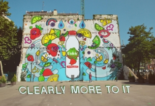 RKCR/Y&R Brings Street Art to Life in Colourful New Volvic Spot