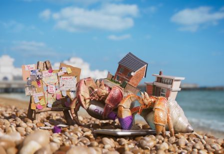 Hermit Crabs Are Looking for a Home in Brothers and Sisters' Campaign for Zoopla