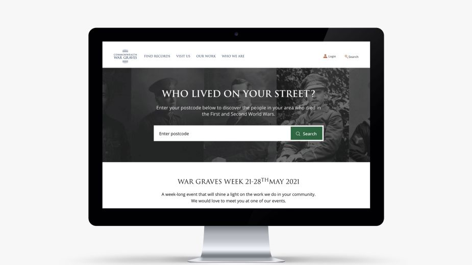 Commonwealth War Graves Commission Brings the People Who Lived on Your Street Back to Your Street