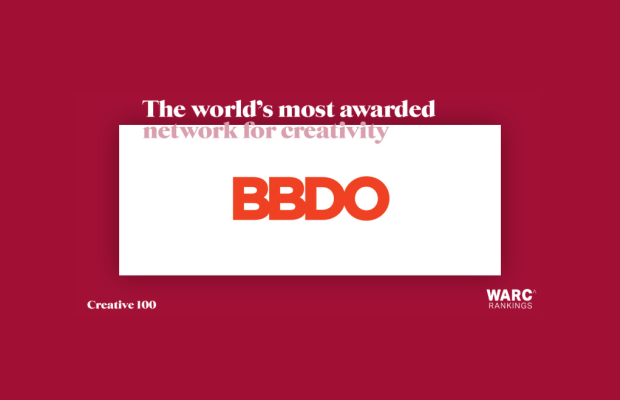 BBDO Worldwide Tops WARC Creative 100 as World's Most Creative Agency Network