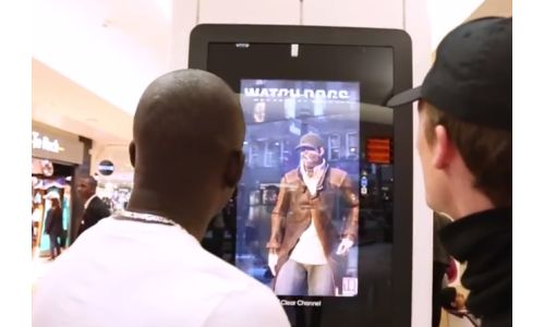 Passersby Hack a Parisian Mall in Biborg's Watch Dogs Campaign
