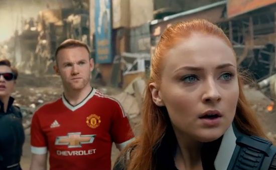 Wayne Rooney Signs to a New Team: The X-Men