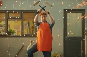 WCRS Unleashes Painting Pro Power in Latest B&Q Ad