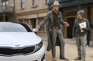 Blake Griffin Swaps His Horse for Horsepower in Wild Western Kia Spot