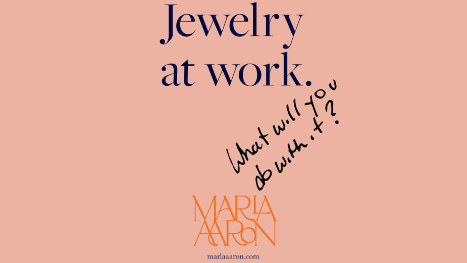 Something Different Captures 'Jewelry at Work' for Marla Aaron Jewelry
