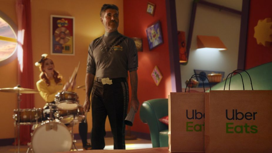 Simon Cowell Isn't Too Happy About Joining The Wiggles in Uber Eats Australia Spots