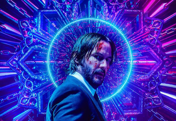 NERD's Billelis Designs Dynamic Visuals for Latest Chapter of John Wick