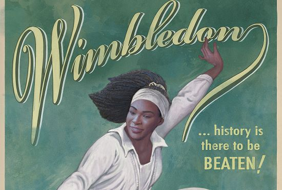 Tennis Stars Get Vintage Treatment in Out of Home Wimbledon Ads