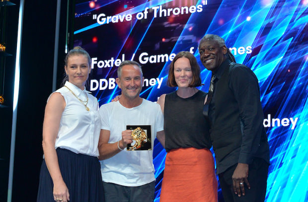 DDB Sydney and Revolver/Will O'Rourke Score Gold Lion in Cannes Industry Craft Lions