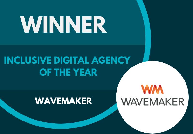 Wavemaker Wins Inclusive Digital Agency Award