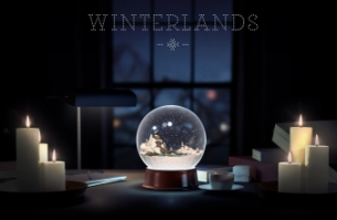 Share a Message in a Snow Globe with AKQA's 'Winterlands' Holiday Card