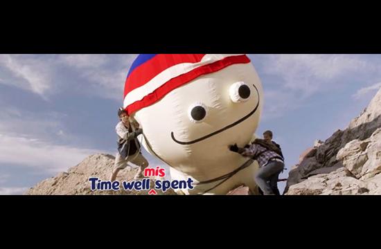 Cadbury Wispa Invites Consumers to Mis-spend Time