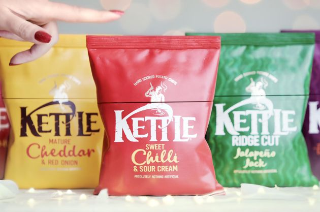 Joint Gives KETTLE Chips Fans the Chance to Make Christmas Dinner Taste like Their Favourite Crisp