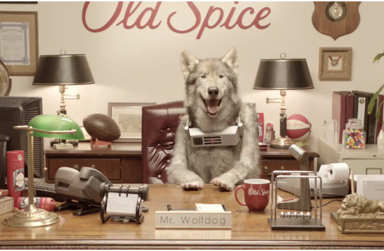 Old Spice's New Marketing Director is a Wild One