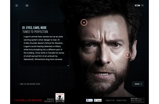 Soap Creative Takes Fans Inside The Wolverine