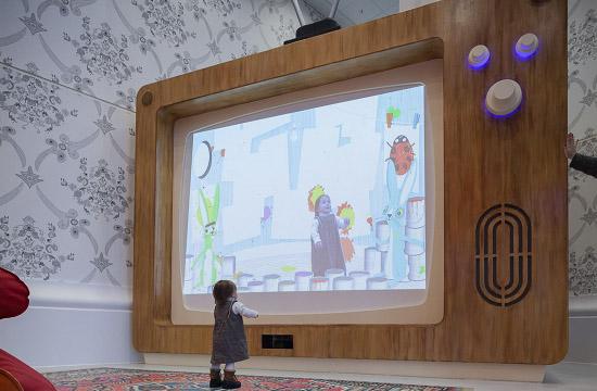 Interactive Woodland at Royal London Hospital