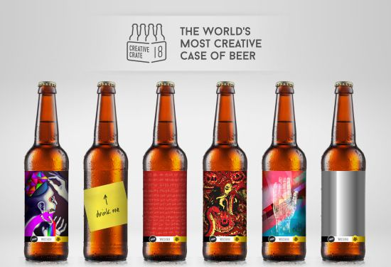 Could This Be the World's Most Creative Crate of Beer?