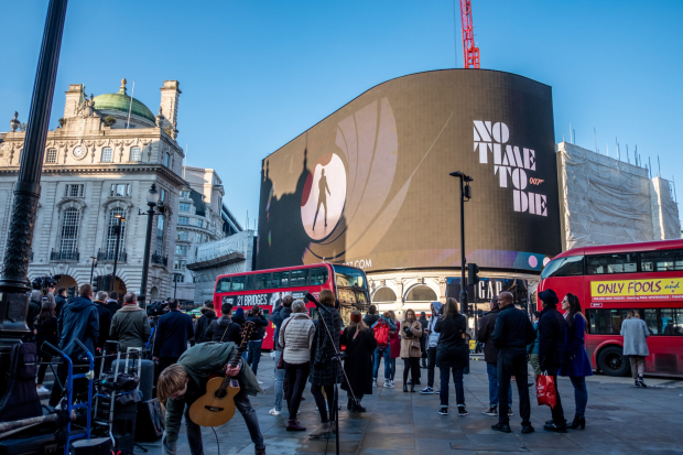 007 Lights Up London's Piccadilly Circus in World Media First