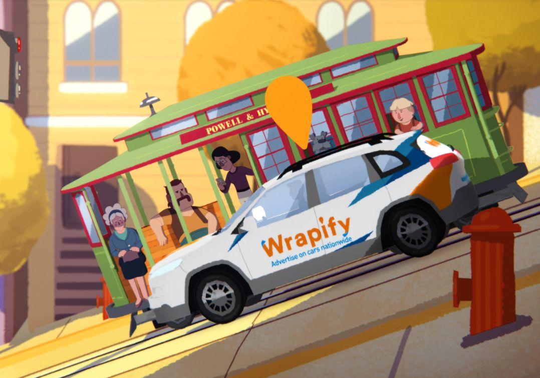Feed Me Light Wraps Up Animated Wrapify Short