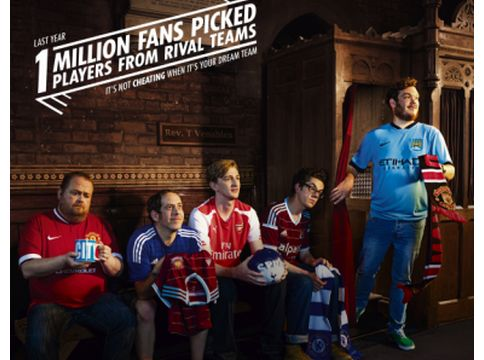 Dream Team Confessions in Wunderman UK's Campaign for The Sun