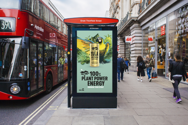 New Plant Powered Energy Drink YULA Joins D&AD New Blood 2020