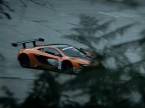 Joel Harmsworth Unleashes the Beast in High-speed McLaren Spot