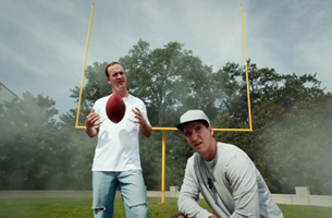 Manning Brothers Head to Football Fantasy in DIRECTV Spoof Music Video