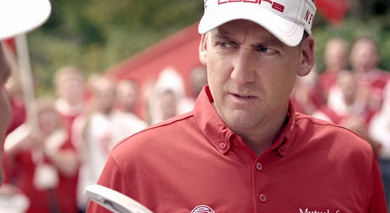 Golfing Gooners Give Golfer Ian Poulter a Taste of the Terraces for Puma
