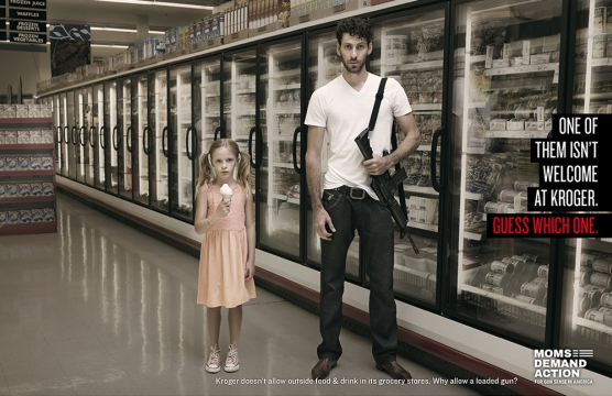 Listen to These Gun Safety Ads One Supermarket Doesn't Want You To Hear