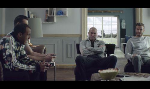 Zidane & Beckham School Bale and Moura In World Cup adidas Spot