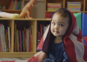 One-year-old Zoe is Going for President in Droga5 NY's YMCA Campaign