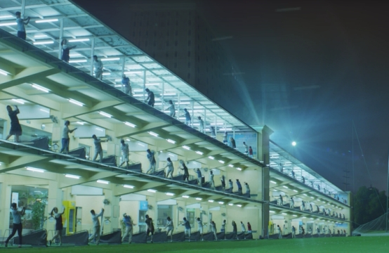 Saatchi London Tees Off the Craziest Golf Game Ever for HSBC