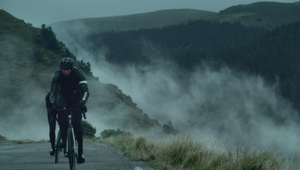 Cyclists Ride Through a Storm in Thrilling Rapha Rain Coat Spot
