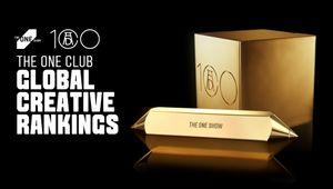 AMV BBDO Tops The One Club Global Creative Rankings 2021