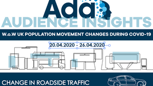 Ada Analysis Finds UK Traffic Steadily Increasing During Week Five of Covid-19 Lockdown