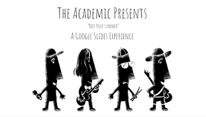 Irish Indie-Rock Band the Academic Hosts World's First Live Animation Performances in Google Slides