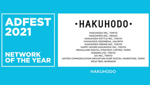 Hakuhodo Wins Network of the Year at ADFEST 2021