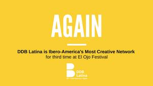 DDB Latina Celebrates Third Win as Most Creative Network at El Ojo de Iberoamérica