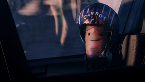 Kevin the Carrot Spirals To Earth in Dramatic Top Gun Style Christmas Teaser
