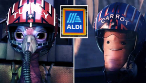 Brace Yourself, Turkey! Aldi's Kevin the Carrot Makes Dramatic Christmas Return