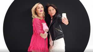 Amanda Holden and Davina McCall Celebrate Womankind for JD Williams Relaunch
