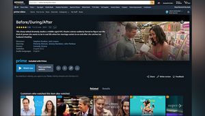 Award-Winning Feature 'before/during/after' Available for Free Viewing by Amazon Prime Subscribers in North America