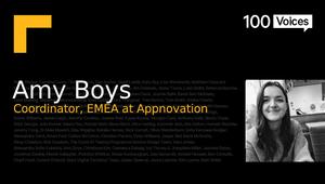 BIMA100 Voices: Amy Boys
