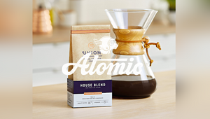 Atomic Wins Union Hand-Roasted Coffee Creative Business