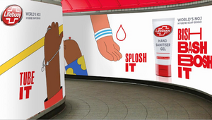 Lifebuoy Activates Striking Bish Bash Bosh Campaign to Improve UK's Hand Hygiene Habits