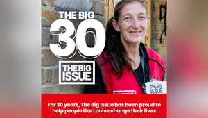 Christopher Eccleston Marks The Big Issue's 30th Birthday Special Vendor Takeover Edition